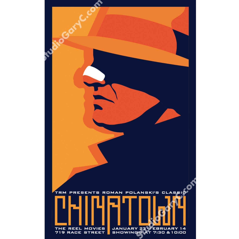 Chinatown Movie Poster Studio Gary C